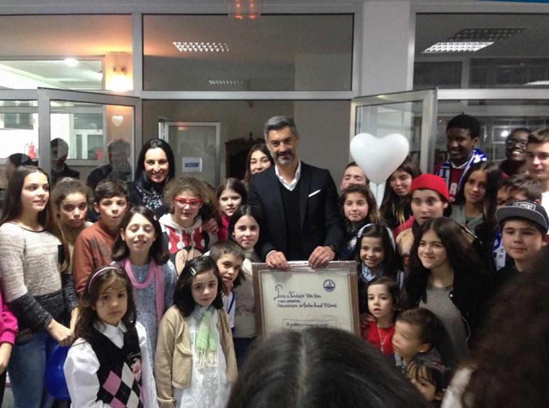 Visita da Fundação Vítor Baía