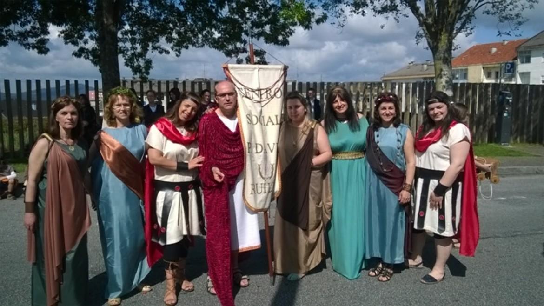 Os nossos Romanos de visita à Bracara Augusta
